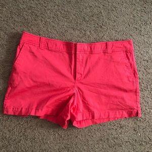NY&CO tangerine shorts